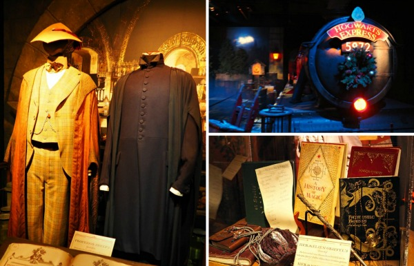 harry potter costumes and props