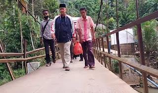 Masih Terisolir, Wagub Sumbar Nginap Rumah Penduduk Sungai Lolo