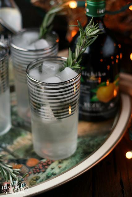 Rosemary Yuzu Gin Fizz