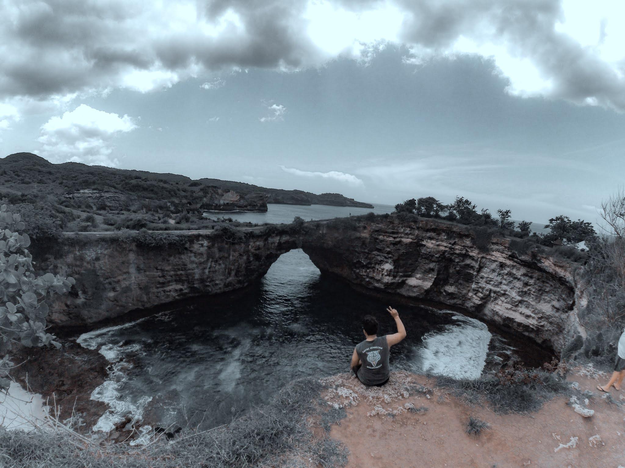 Nusa Penida - Pasih Uug atau Broken Beach