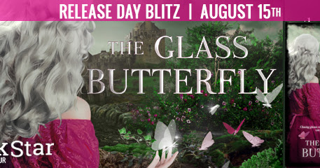 Book Release for The Glass Butterfly by A.G. Howard
