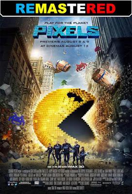 Pixels 2015 DVD R1 NTSC Latino RMZ