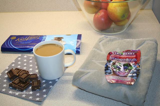 suklaa kahvi ja kasvohoito