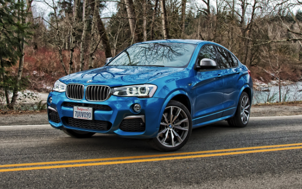 2017 bmw x4 m40i review car and driver review. Black Bedroom Furniture Sets. Home Design Ideas