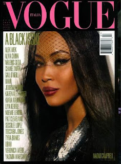 The 2008 'black edition' of Vogue Italia was one of Sozzani's notable triumphs