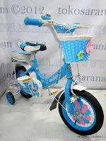 2 Sepeda Anak GoodWay 0212 Natalie 12 Inci