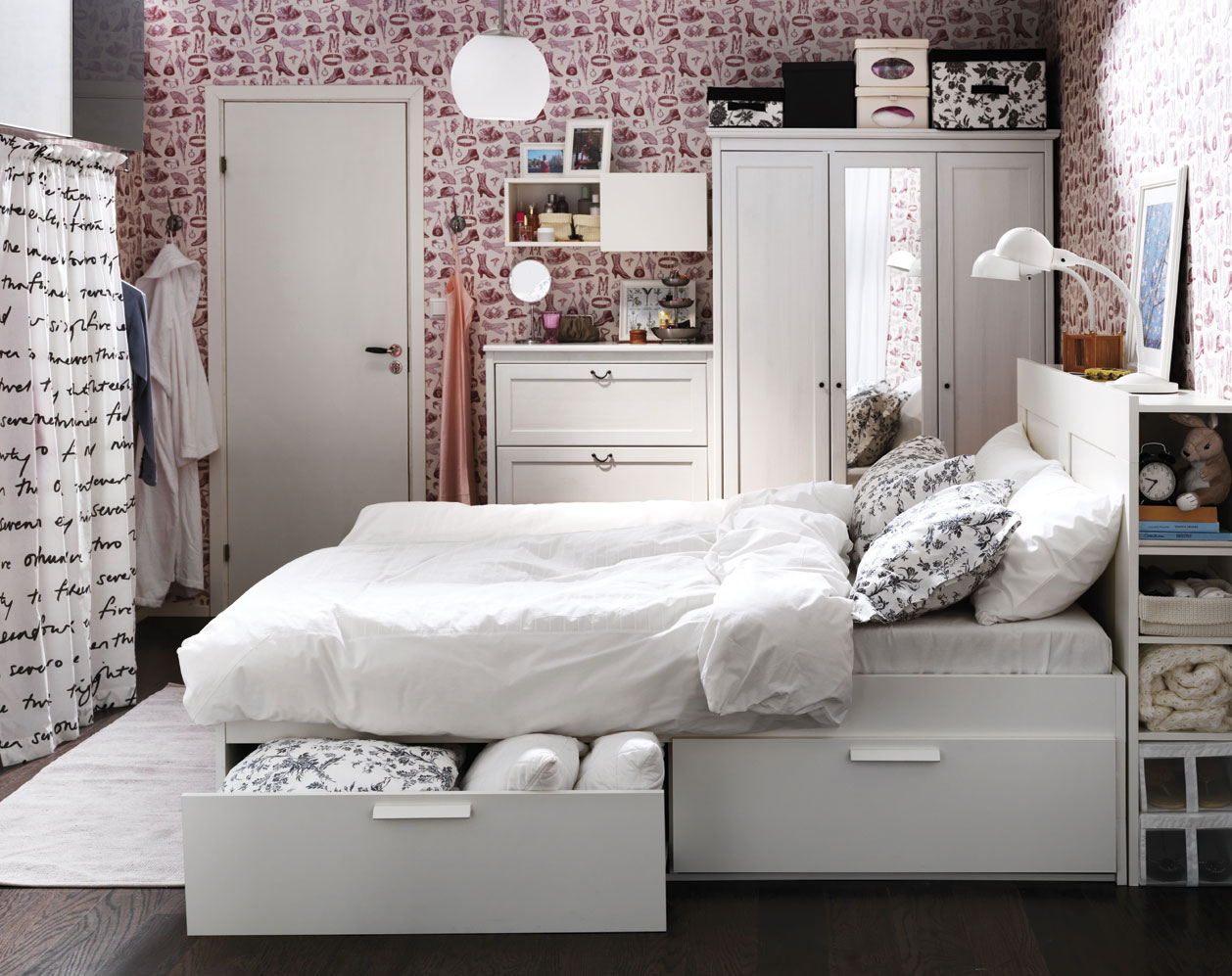 novedades ikea 2012 dormitorios im genes de ambientes con lo m s nuevo del cat logo. Black Bedroom Furniture Sets. Home Design Ideas
