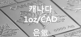 오늘 캐나다 은 1 온스(oz) 시세 : 99.99 은(銀) 1 온스 (1oz) 시세 실시간 그래프 (1oz/CAD 캐나다 달러)