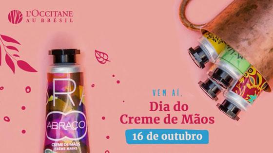 Ganhe um Creme de Mãos L'Occitane au Brésil