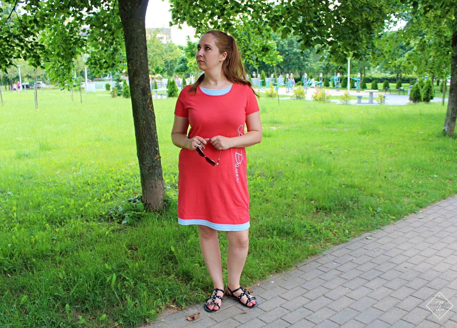 sukienka shirtowa bonprix