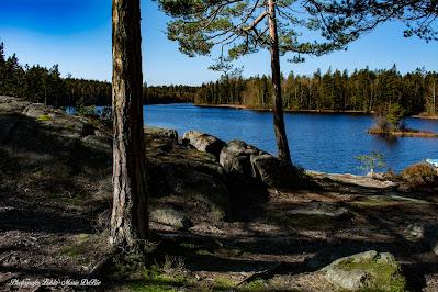 Kejsarberget på Torsjöleden utanför Vissefjärda i ljusa Småland