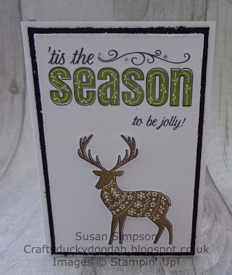 Craftyduckydoodah!, Merry Patterns, October 2017 Coffee & Cards Project, Stampin' Up! UK Independent  Demonstrator Susan Simpson, Supplies available 24/7 from my online store,