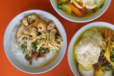 Bubur Ayam dan Soto Pasar Pagi Gang Bunga Gang Bangau