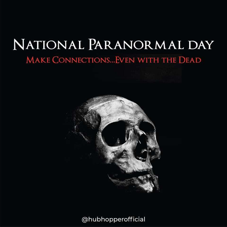 National Paranormal Day Wishes Beautiful Image