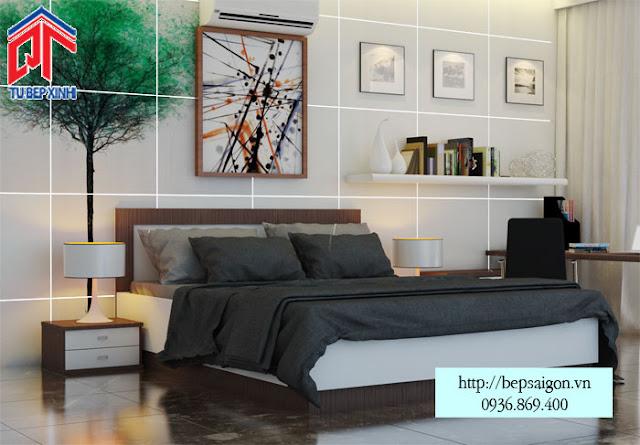 Thiết kế giường ngủ đẹp và hiện đại