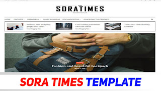 Sora Times - Perfect Theme For News Related Sites