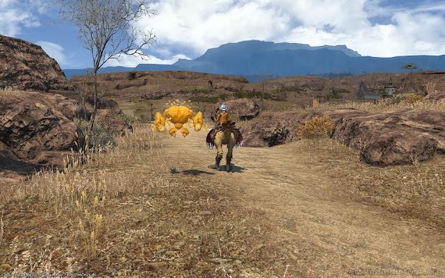 Final Fantasy XIV: передвижение по местности
