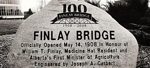 finlay bridge medicine hat alberta