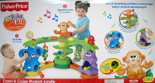 Toys For Rent Fisher Price Crawl And Cruise Musical Jungle