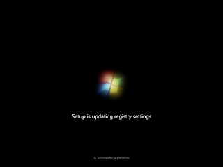 Booting Windows 7