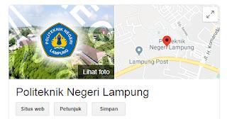 Apa Saja Jurusan Yang Ada Di Politeknik Negeri Lampung { Polinela }