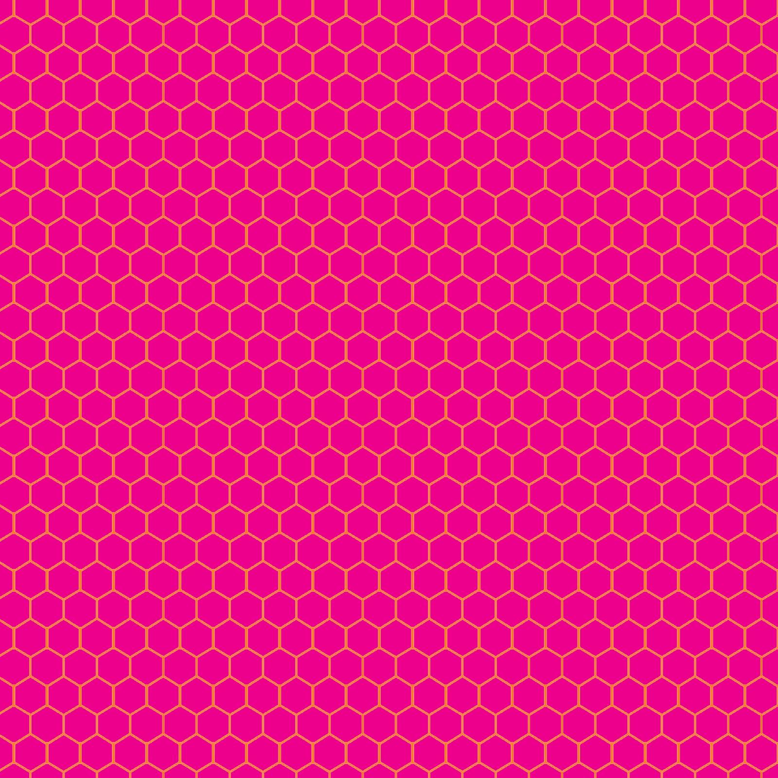 Wallpaper Black Pink: Hexagon Honeycomb FREEBIE Background Pattern Of Awesomeness