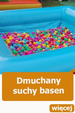 suchy basen z piłeczkami, dmuchańce wrocław, atrakcje dla dzieci,