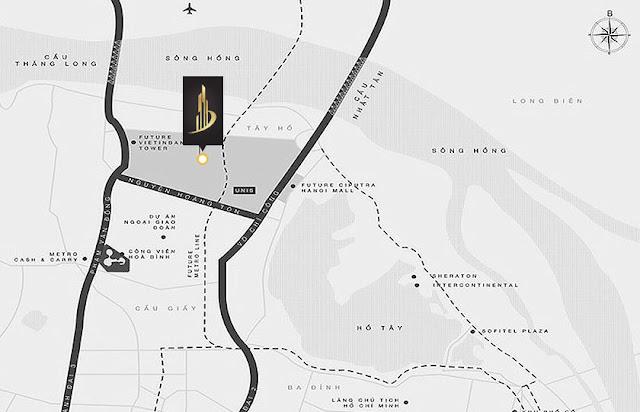 Sunshine Empire Ciputra Hà Nội cho thuê cao vượt trội, Tin dự án Sunshine Empire Ciputra 88 tầng Hà Nội Tower Sky Villas khu đô thị Ciputra Phạm Văn Đồng,
