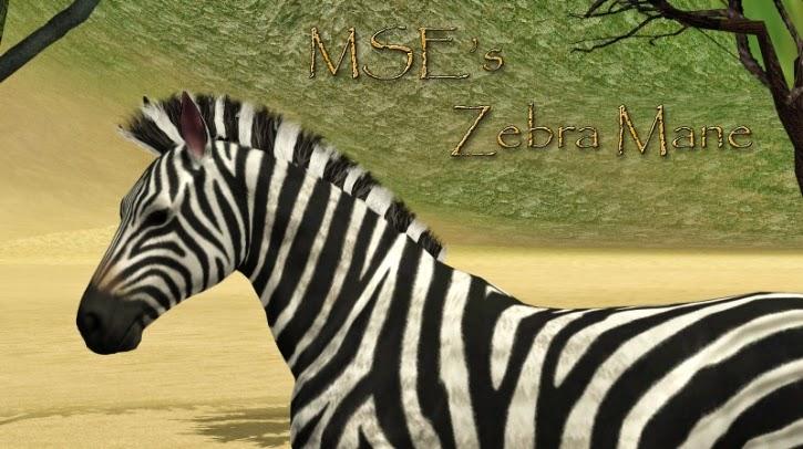 Sims Horses Zebra Mane Ea Recolor At Equus Sims