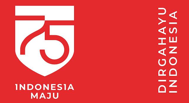 Logo HUT KE-75 Resmi Tahun 2020