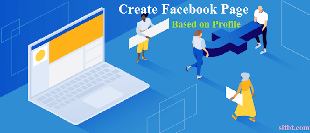 create Facebook page based on profile