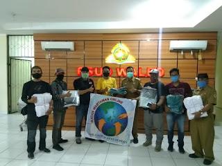IWO Cirebon Raya Bantu APD Ke Rumah Sakit Waled Kab Cirebon
