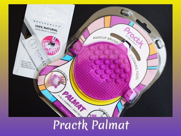 practk palmat makeup brush cleaner