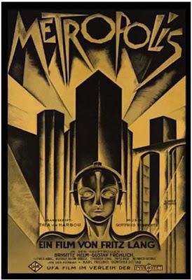 Metrópolis Esta película alemana, lanzada en 1927, es vista como uno de los primeros géneros de ciencia ficción