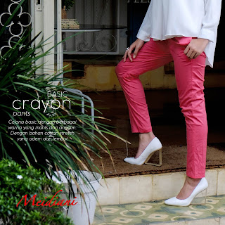 Celana basic Crayon Pants