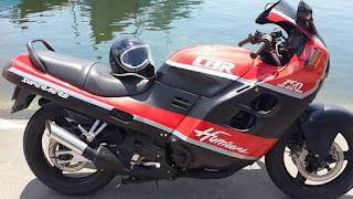 Dijual Motor CBR Huricane Harga Banpol