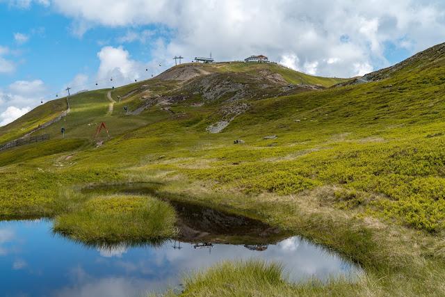 Wanderung zum Seetörl und zur Hacklbergalm | Schattberg Westgipfel Saalbach 05