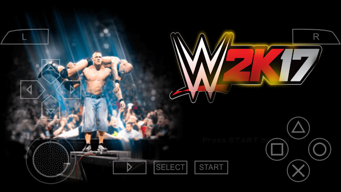 WWE 2k17 Android PSP game free download