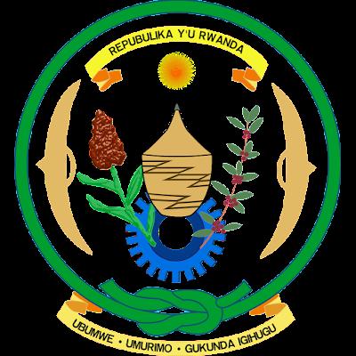 Coat of arms - Flags - Emblem - Logo Gambar Lambang, Simbol, Bendera Negara Rwanda