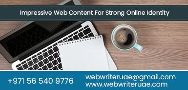 SEO Content Writers Dubai