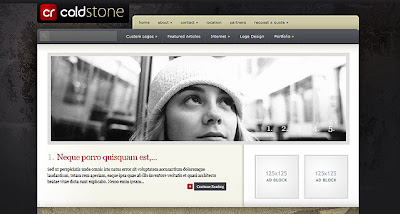 ColdStone Wordpress Theme