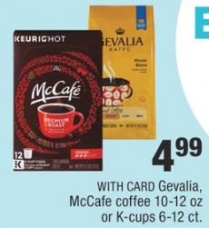 McCafe coffee cvs deal