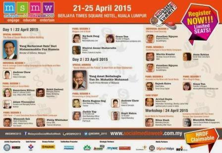Malaysia Social Media Week 2015 MSMW2015