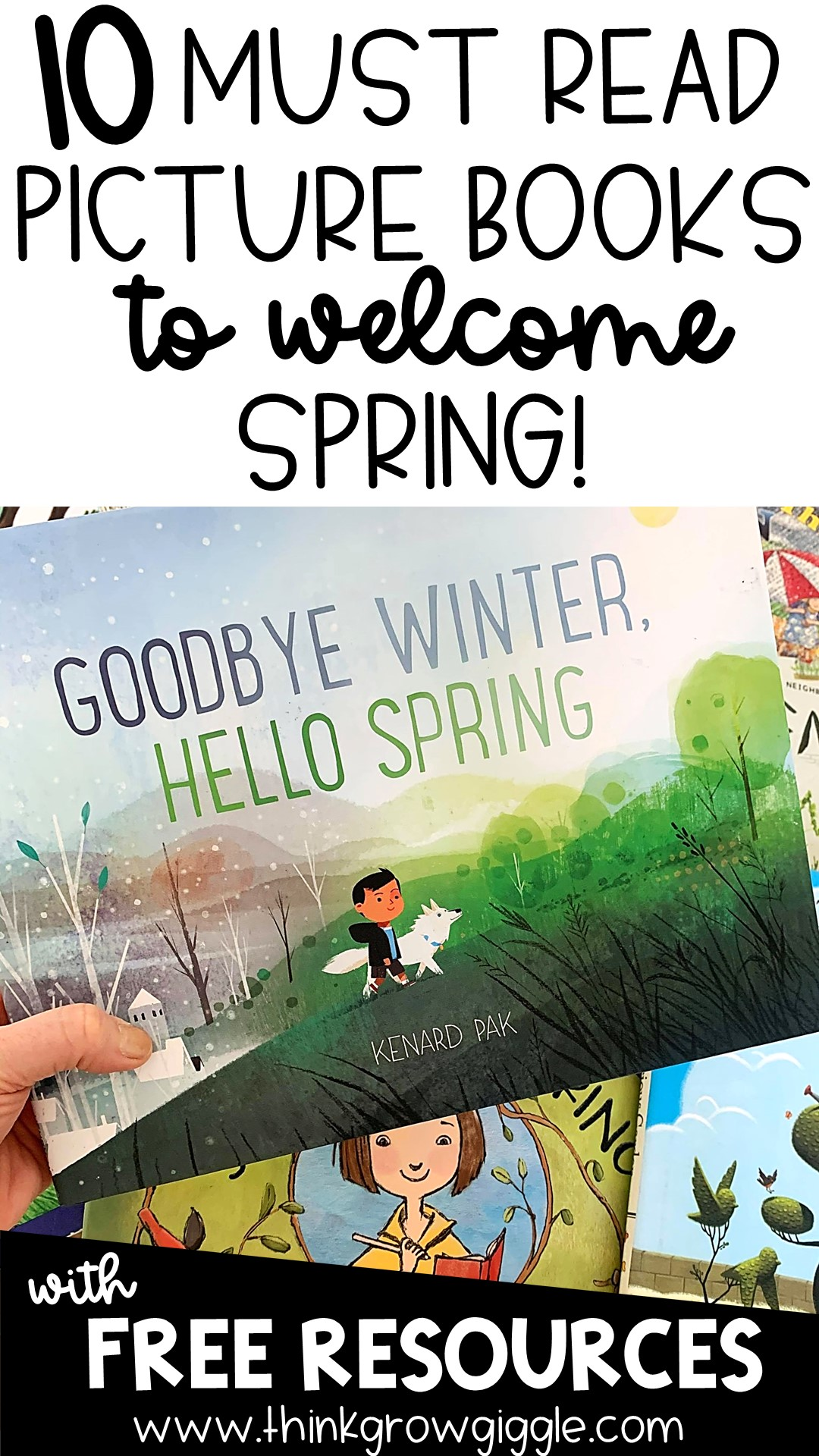free spring activities for kids