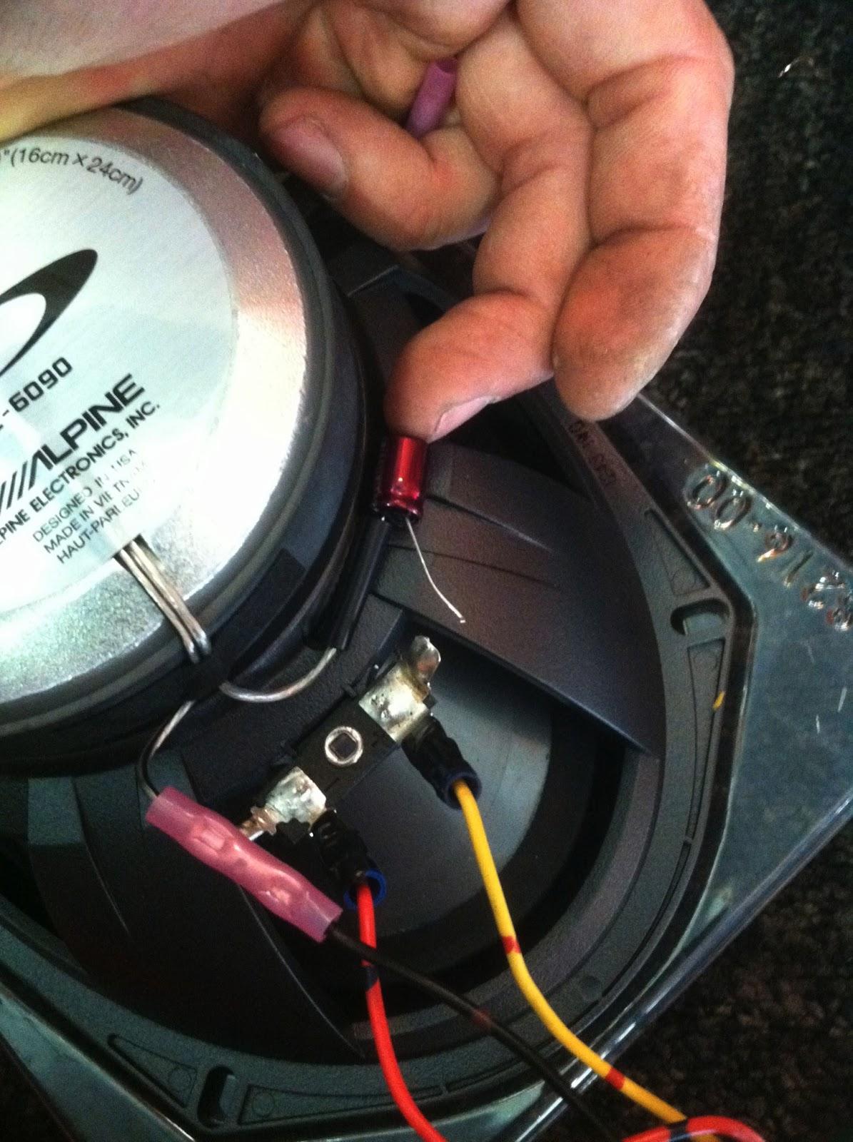 toyota camry speaker wiring