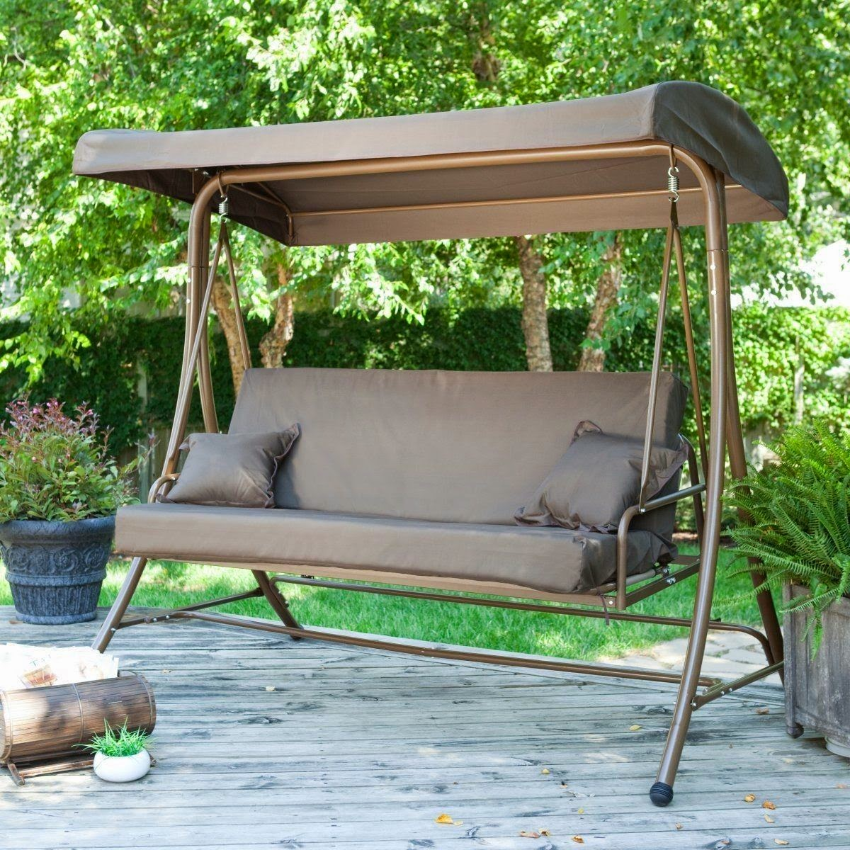 Canopies Patio Swings With Canopy