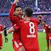 Bayern vence o Hertha e se iguala ao líder Dortmund; Schalke perde e Wolfbsurg derrota o Gladbach fora