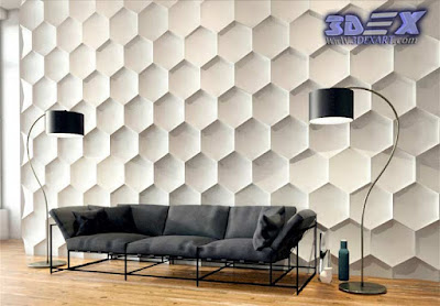 3d Decorative Wall Panels, Modern 3d Wall Panels, 3d Gypsum Wall Panels