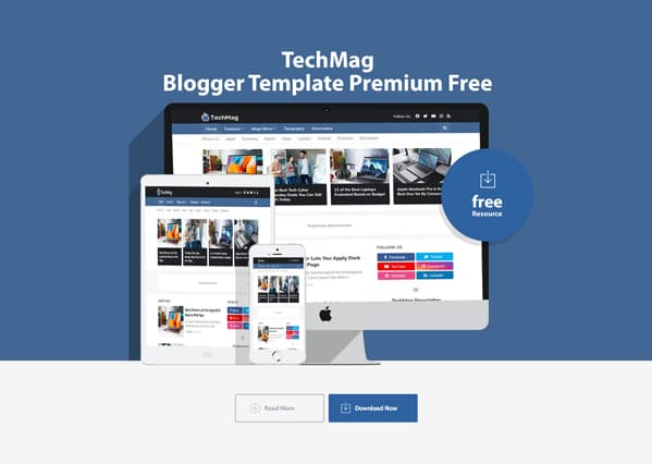 TechMag Blogger Template Premium