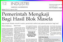 Government Reviewing Masela Block Profit Sharing